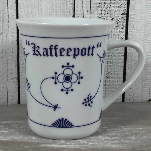 Konischer Becher Indisch Blau KAFFEEPOTT Becher Tasse Kaffeebecher maritim