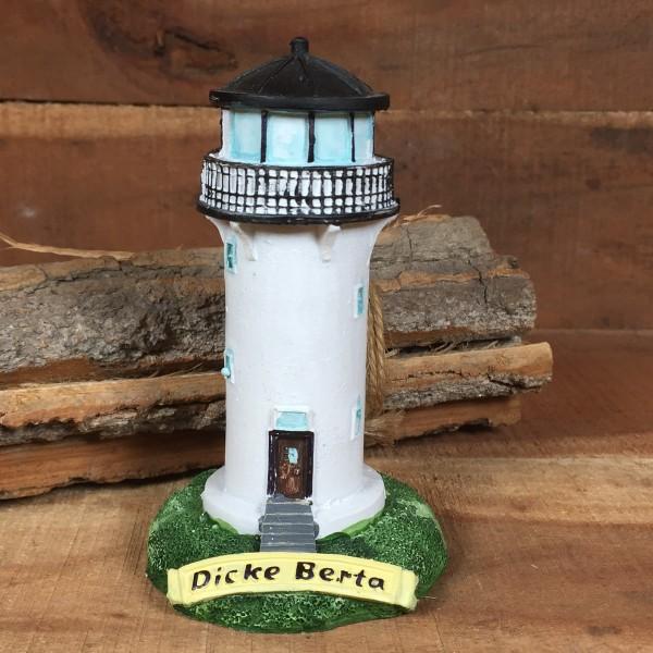 Deko Modell Leuchtturm Dicke Berta 11 cm