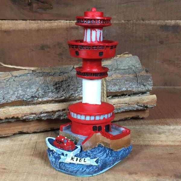 Deko Modell Leuchtturm Kiel 11 cm