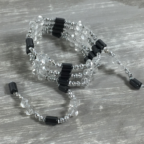 Magnetkette Magnetarmband SILBER Halskette Kette Fußkette Magnet