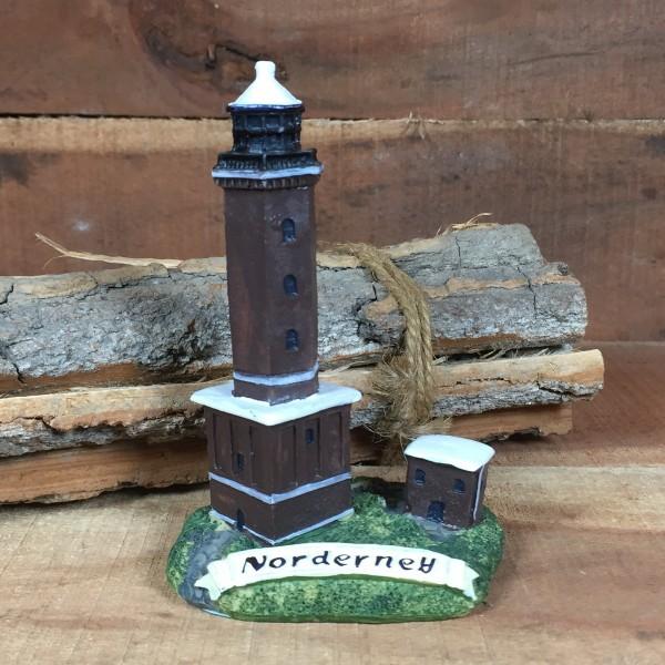 Deko Modell Leuchtturm Norderney 10 cm