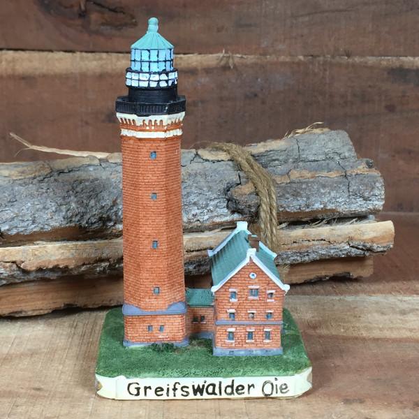 Deko Modell Leuchtturm Greifswalder Oie 11 cm Greifswald
