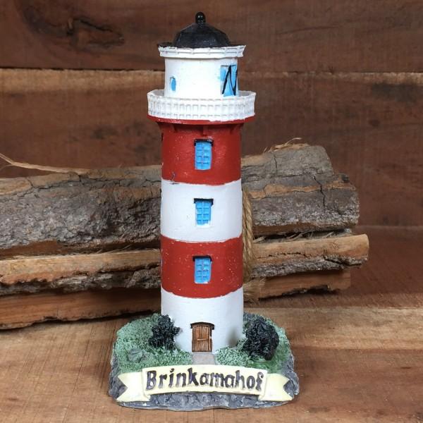Deko Modell Leuchtturm Brinkamahof 11 cm