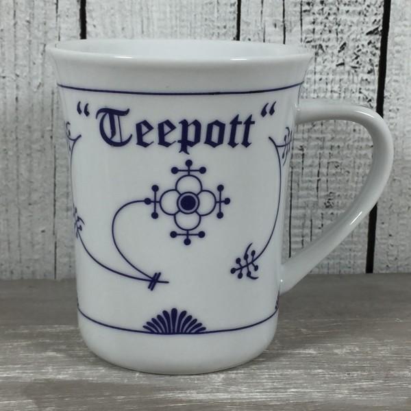 Konischer Becher Indisch Blau TEEPOTT Tasse Becher Teetasse maritim