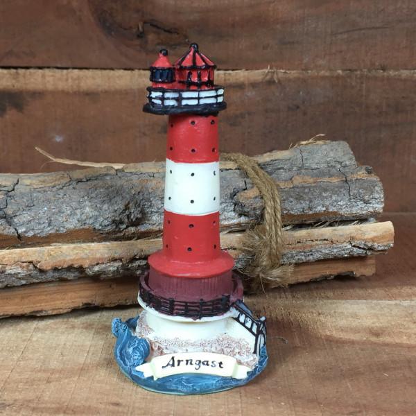 Deko Modell Leuchtturm Arngast Jadebusen 10cm