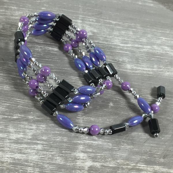 Magnetkette Magnetarmband FLIEDER Halskette Kette Fußkette Magnet